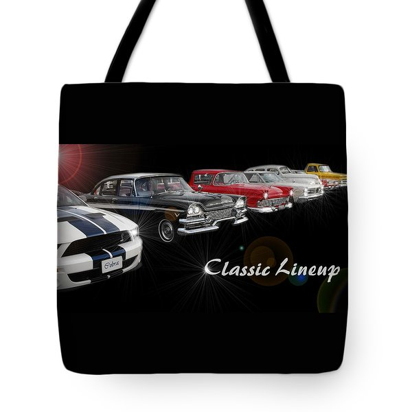 Classic Lineup Tote Bag by David and Lynn Keller
