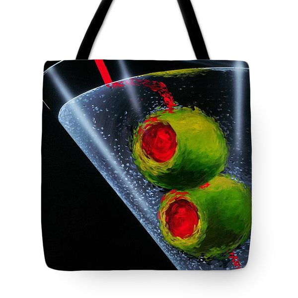 Classic Martini Tote Bag by Michael Godard