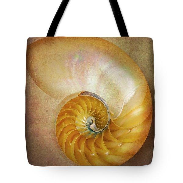 Classic Nautilus Shell  Tote Bag