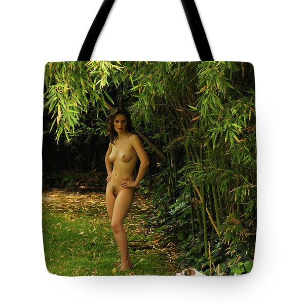 Classic Nude And Companion  Tote Bag by Harry Spitz