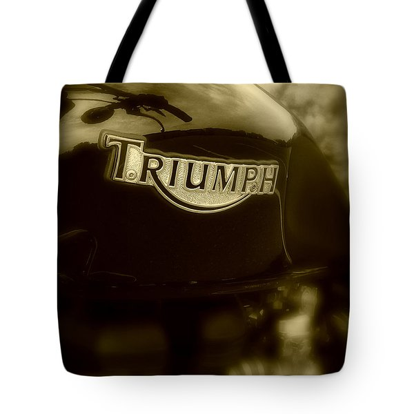 Classic Old Triumph Tote Bag by Perry Webster