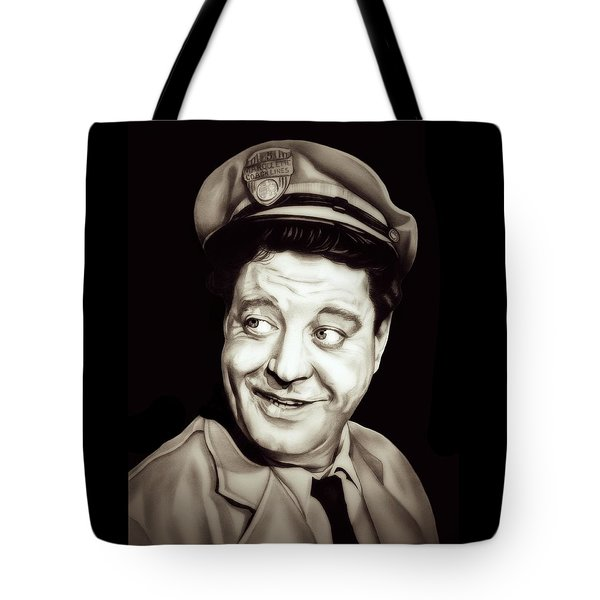 Classic Ralph Kramden Tote Bag by Fred Larucci