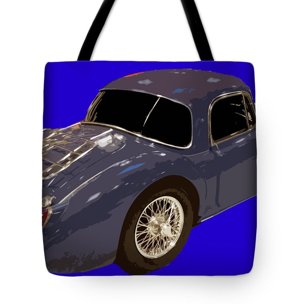 Classic Sports Blue Rear Tote Bag