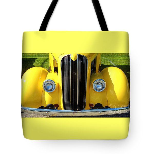 My Ride's Here Tote Bag