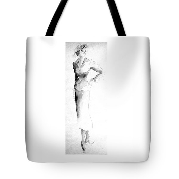 Classic Suit Tote Bag by Beverly Solomon Design
