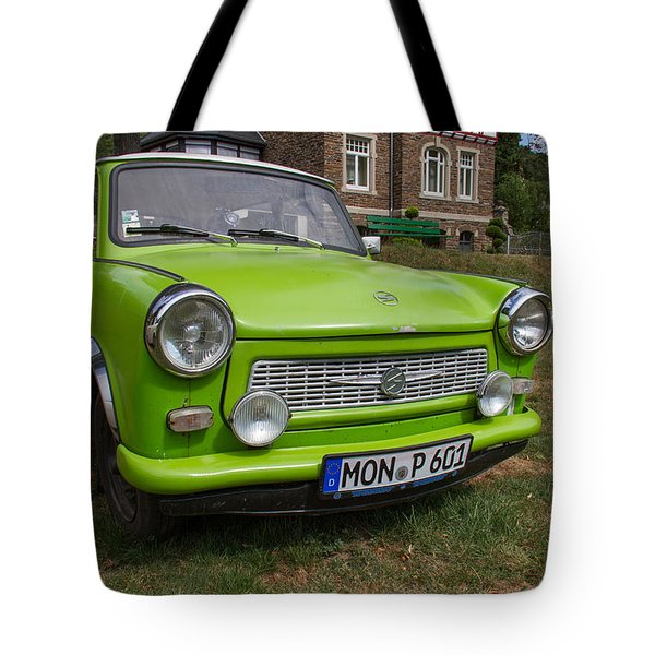 Classic Trabant Car Tote Bag