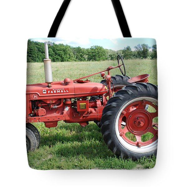 Classic Tractor Tote Bag by Richard Bryce and Family