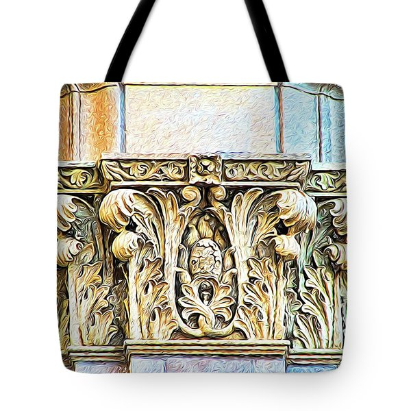 Tote Bag featuring the digital art Classic by Wendy J St Christopher