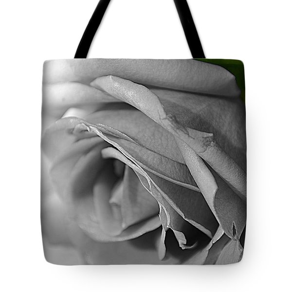 Classic White Rose Tote Bag