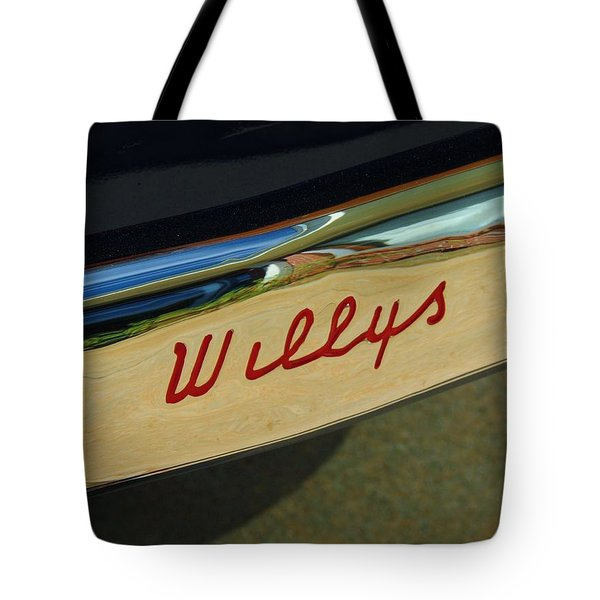 Classic Willys Jeep Tote Bag
