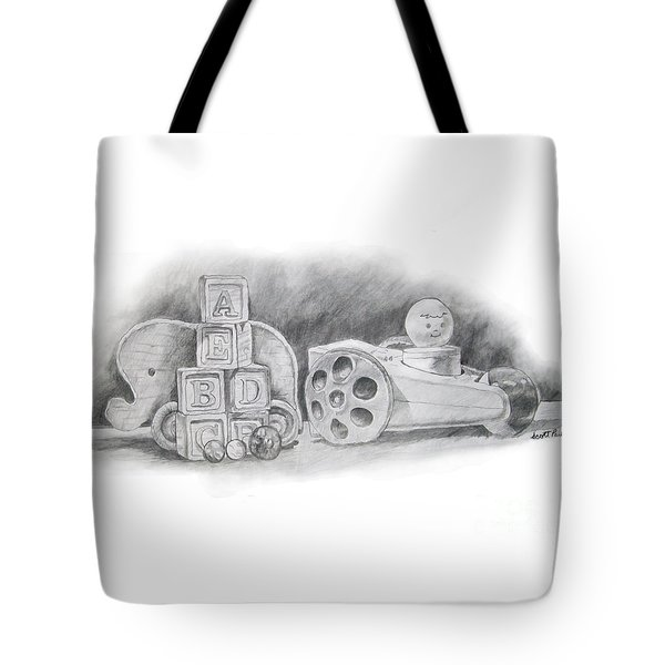 Classic Wooden Toys Tote Bag