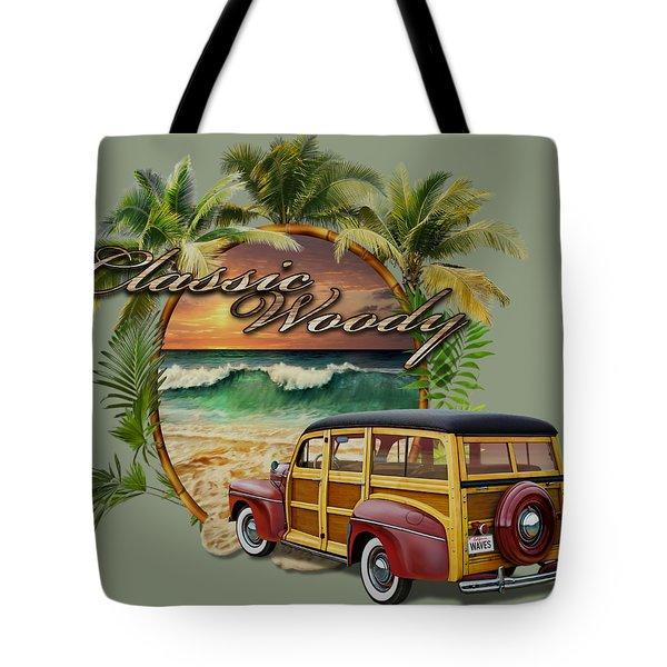 Classic Woody Tote Bag