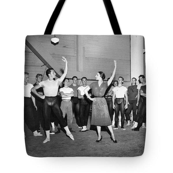 Classical Dance Class Tote Bag