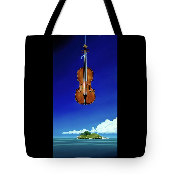 Classical Seascape Tote Bag