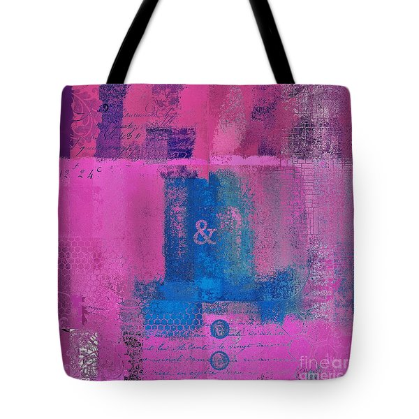 Tote Bag featuring the digital art Classico - S0307d by Variance Collections