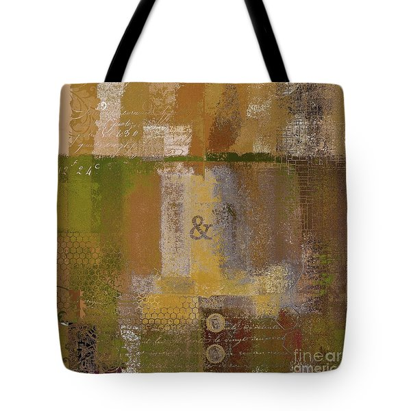 Tote Bag featuring the digital art Classico - S0309b by Variance Collections