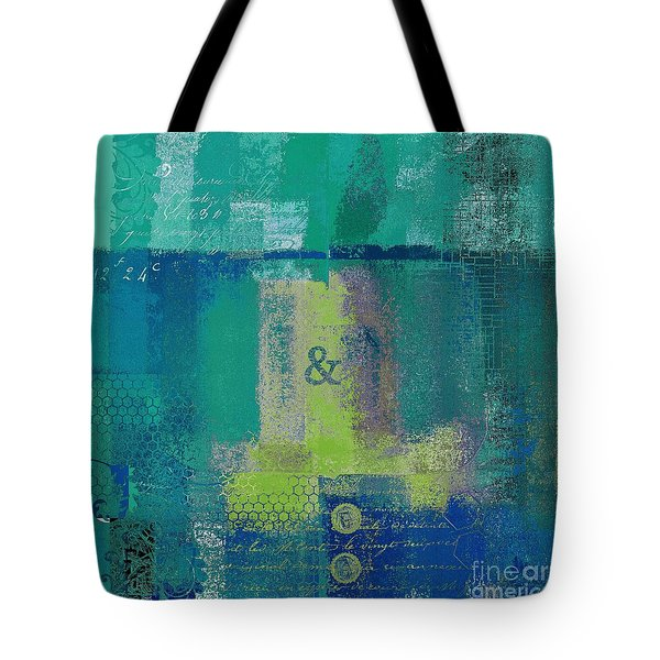Tote Bag featuring the digital art Classico - S03c04 by Variance Collections
