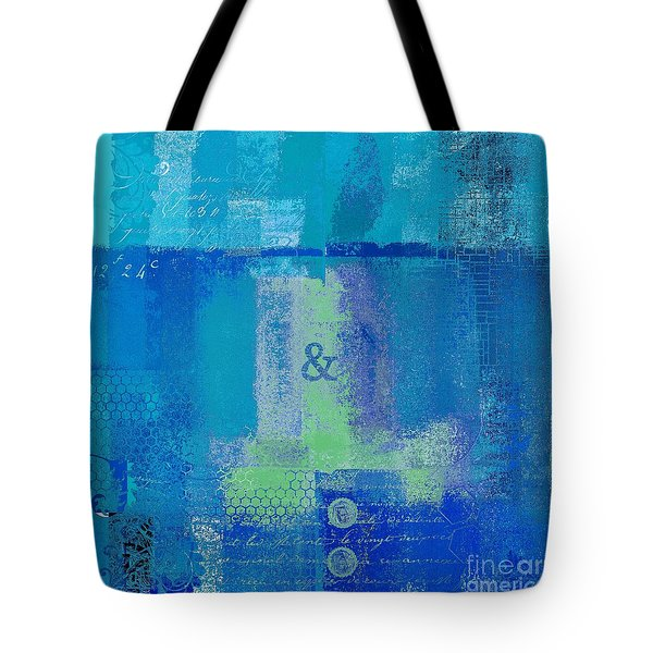 Tote Bag featuring the digital art Classico - S03c06 by Variance Collections