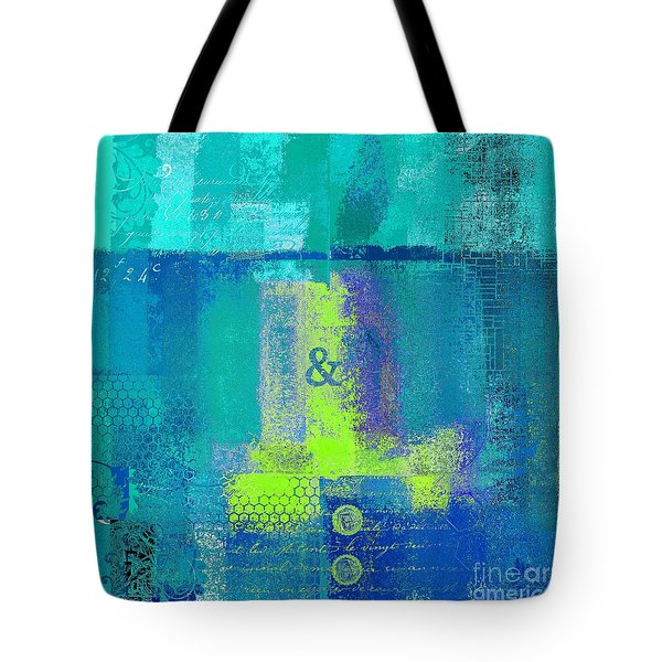 Tote Bag featuring the digital art Classico - S03c26 by Variance Collections
