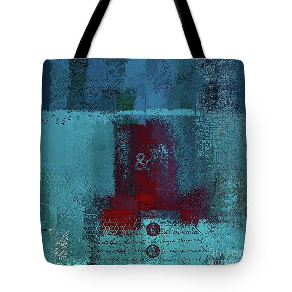 Tote Bag featuring the digital art Classico - S03b by Variance Collections