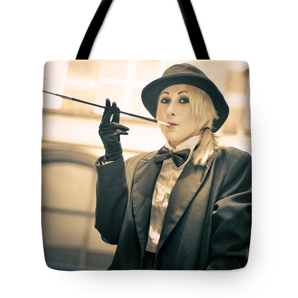 Classy Rich Woman Tote Bag by Jorgo Photography - Wall Art Gallery