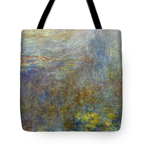 Claude Monet: Waterlilies Tote Bag by Granger