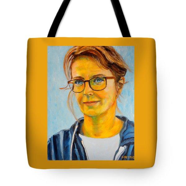 Claudia-portrait Tote Bag