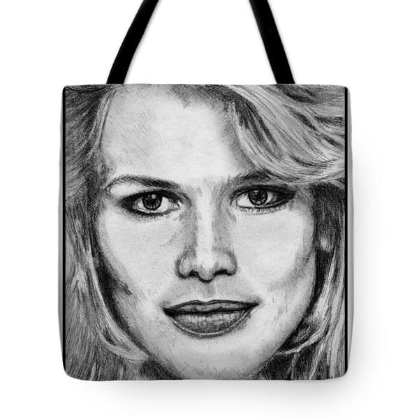 Claudia Schiffer In 1992 Tote Bag by J McCombie