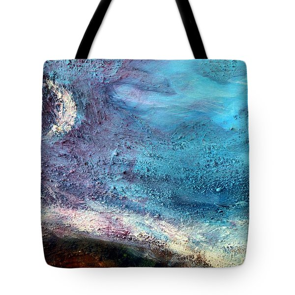 Clay Moon Tote Bag