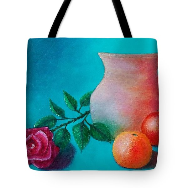 Clay Pot Still Life Tote Bag