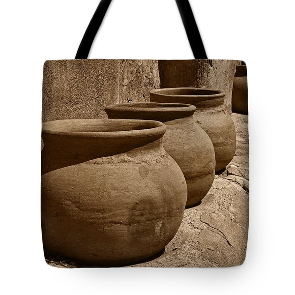 Clay Pots At Tumaca'cori Tnt Tote Bag