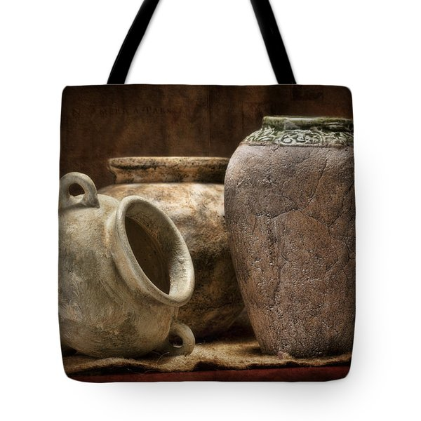 Clay Pottery II Tote Bag