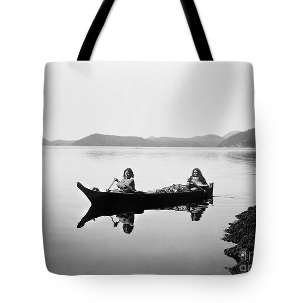 Clayoquot Canoe, C1910 Tote Bag by Granger
