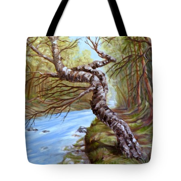 Clayton River Tote Bag