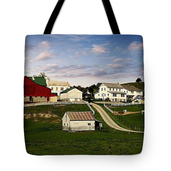 Clean Pastures Tote Bag
