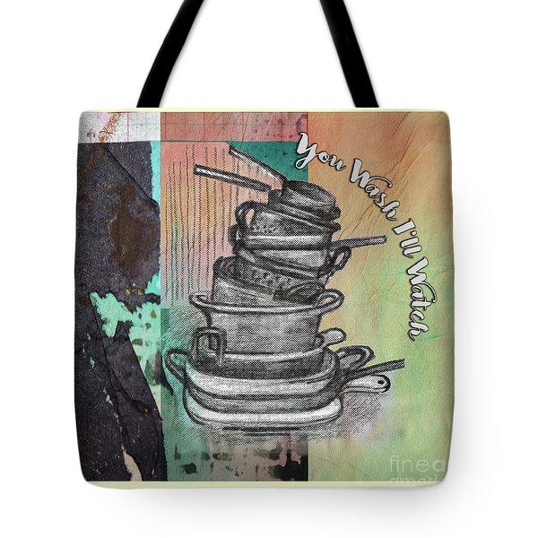 Clean Your Kitchen  Tote Bag