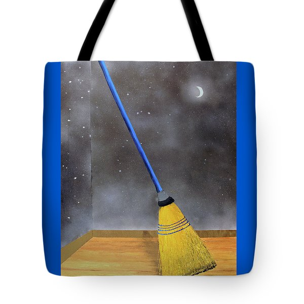 Cleaning Out The Universe Tote Bag