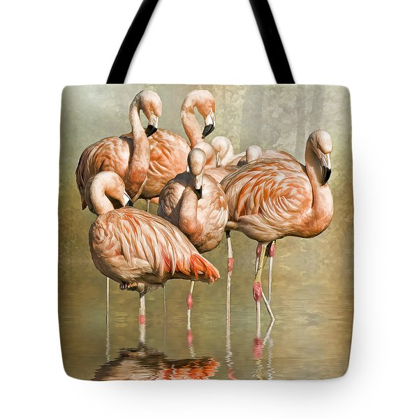 Tote Bag featuring the photograph Cleaning Up Their Act. by Brian Tarr