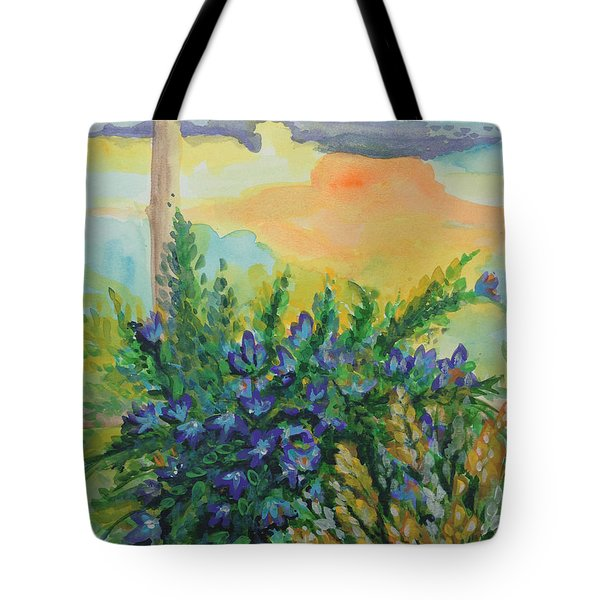 Cleansed Tote Bag by Holly Carmichael