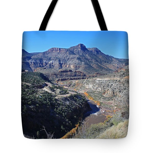 Clear And Rugged Tote Bag