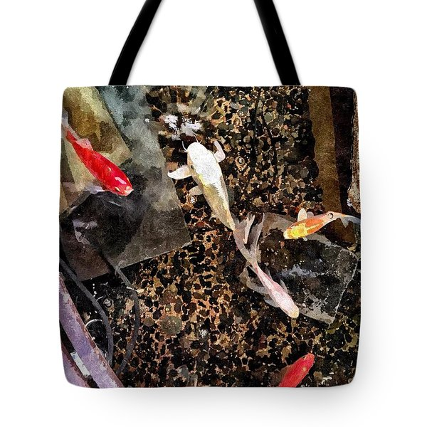 Clear As Koi Tote Bag