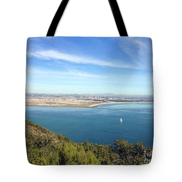 Clear Blue Sea Tote Bag
