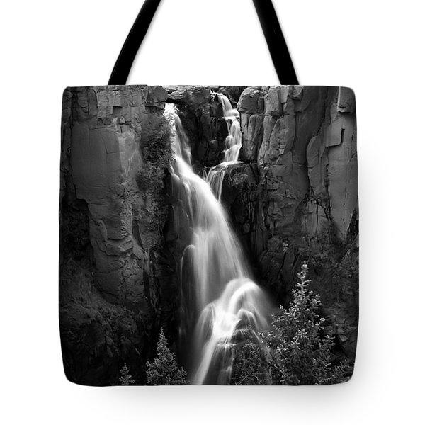 Clear Creek Falls Tote Bag by Farol Tomson