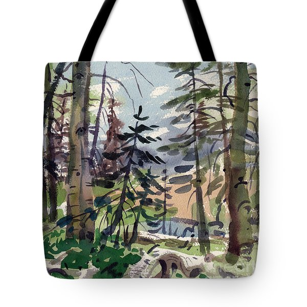 Clear Lake Tote Bag by Donald Maier