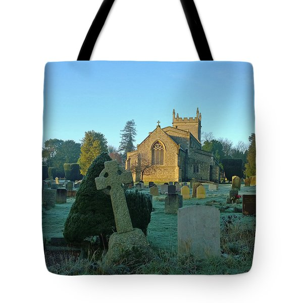 Clear Light In The Graveyard Tote Bag