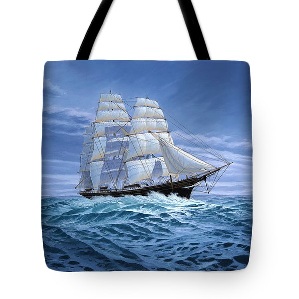 Clear Skies Ahead Tote Bag