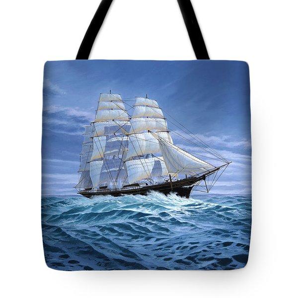 Clear Skies Ahead Tote Bag