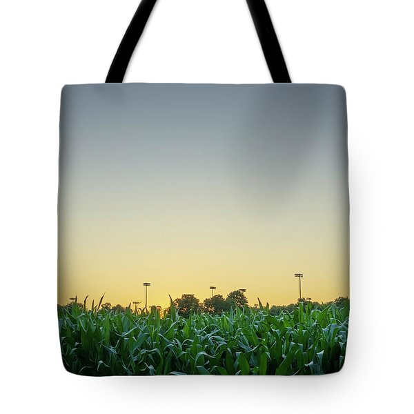 Clear Skies Sunset Tote Bag