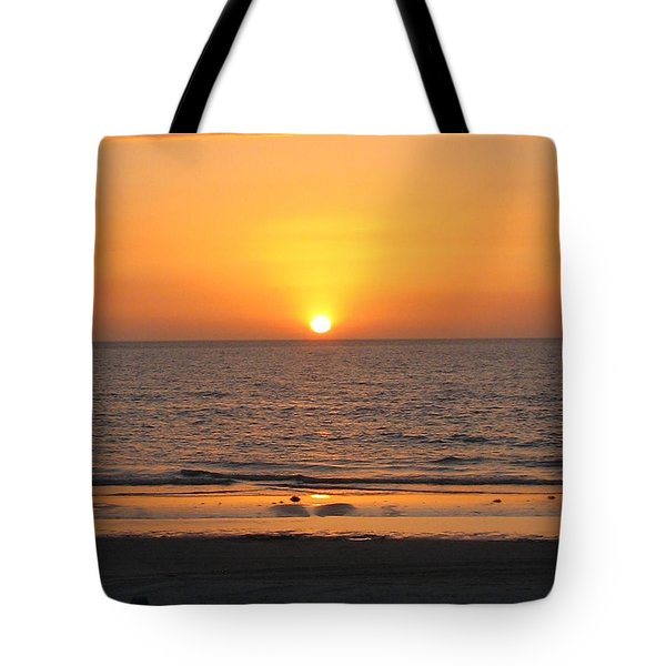 Clear Sunset Tote Bag