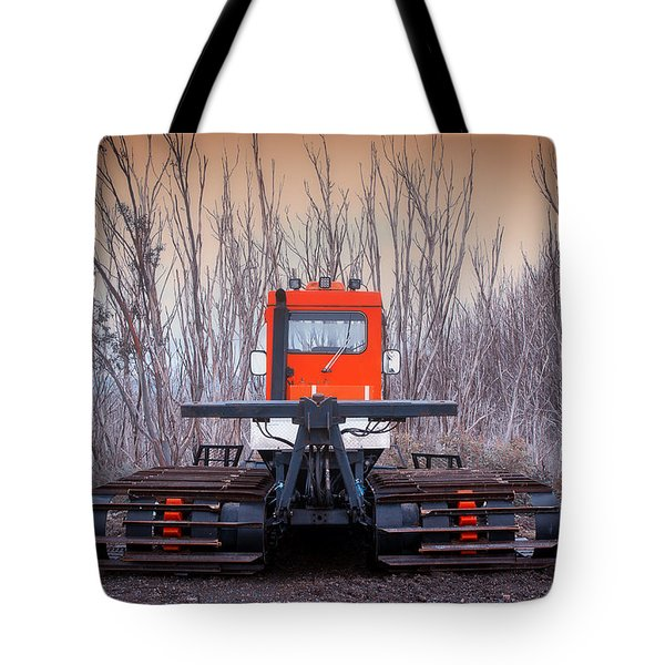 Tote Bag featuring the photograph Clear The Way by Tim Nichols